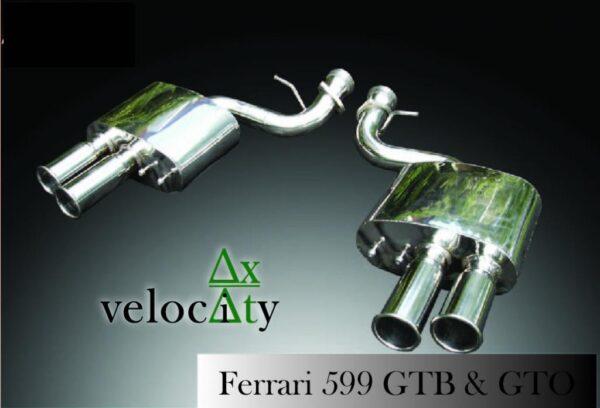 Ferrari 599 Performance Exhaust 'Sports' Sound Level