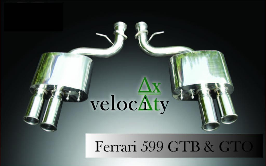 Ferrari 599 Performance Exhaust 'Sports' Sound Level