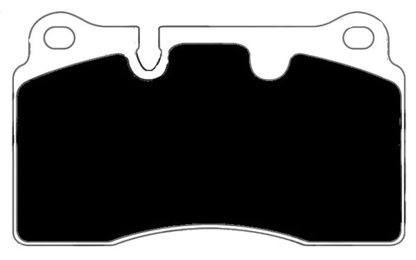 Aston Martin Porterfield R4-S Brake Pads Front AP 1165