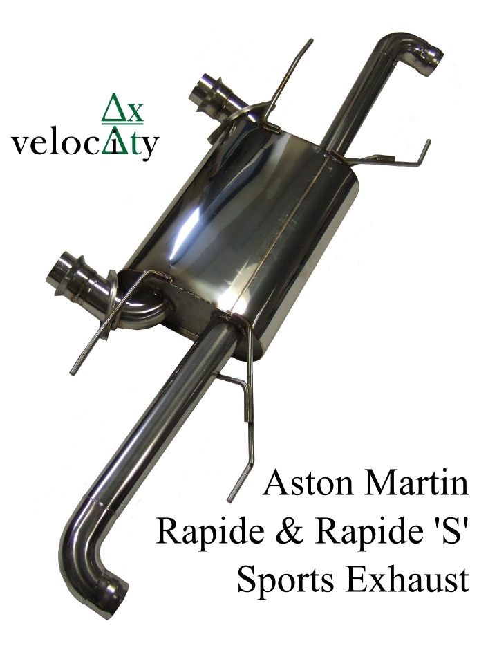 Aston Martin Rapide Stainless Steel Exhaust 'Sport' Sound Level