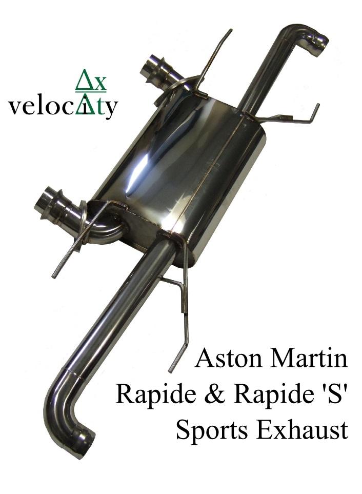 Aston Martin Rapide Stainless Steel Exhaust 'Sport' Sound Level