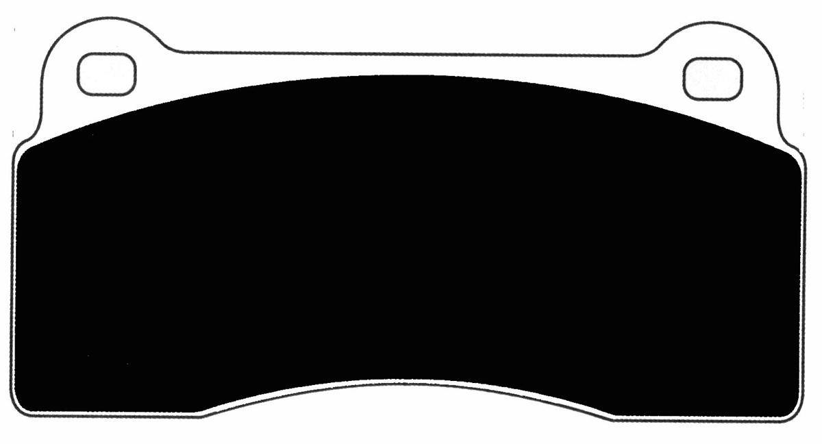 Aston Martin Vanquish Porterfield R4-S Brake Pads Front