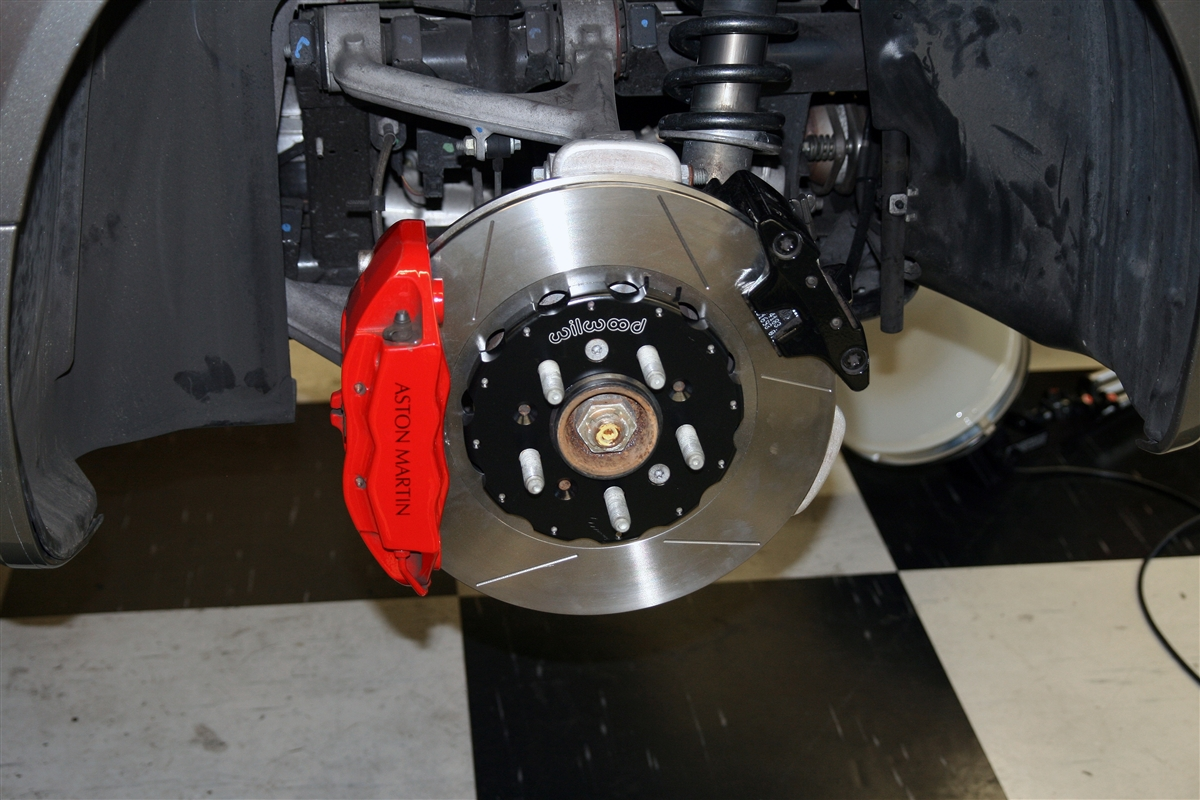Aston Martin Brake Replacement Package 2-Piece Rotors and Pads
