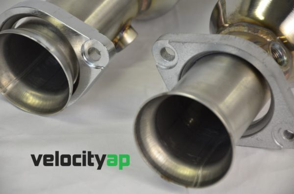 Jaguar F-Type 200 Cell Sport Catalyst and Downpipe 2WD