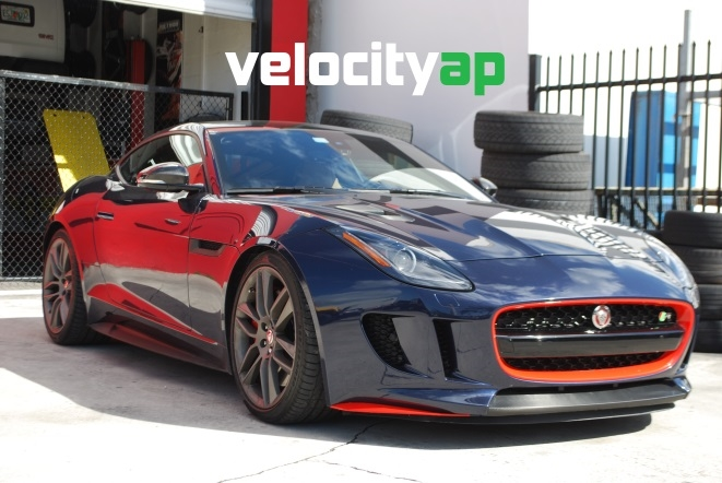 Jaguar F-Type R AWD Progressive Rate Lowering Springs