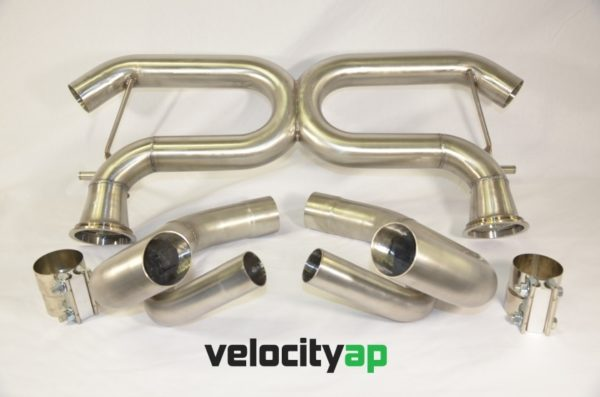 Audi R8V10 Stainless Steel Exhaust 'Race' Sound Level