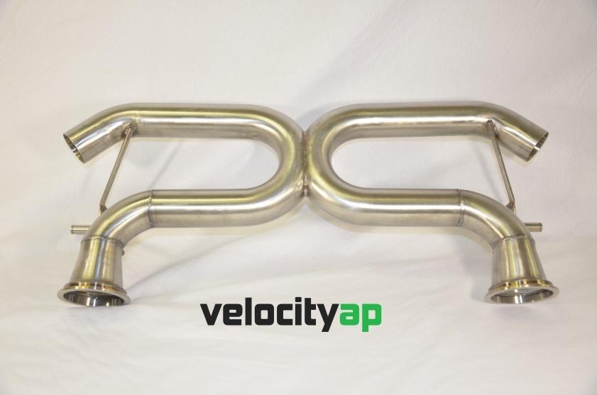 Lamborghini LP550, LP560, LP570 Stainless Steel Exhaust 'Race' Sound Level