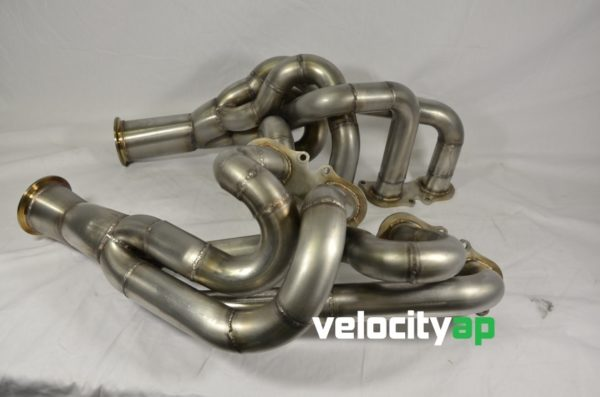 Mercedes SLS AMG C197 / R197 4-2-1 Headers with 200 Cell Sport Cats