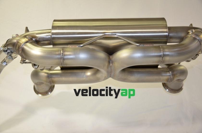 Lamborghini LP550 LP560 LP570 Valvetronic Stainless Steel Exhaust