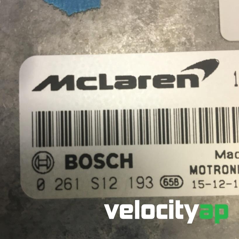 McLaren 570S Performance ECU Tuning