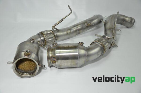 McLaren 200 Cell Ultra-High Temp Sport Catalyst Pipes