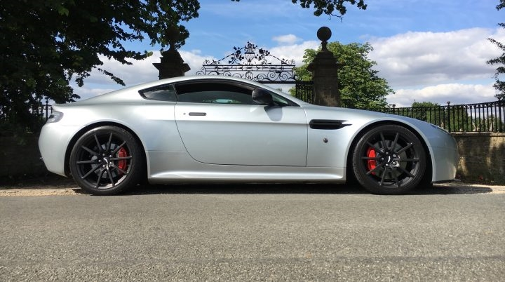 Aston Martin V8 Vantage Progressive Taper Sport Lowering Springs