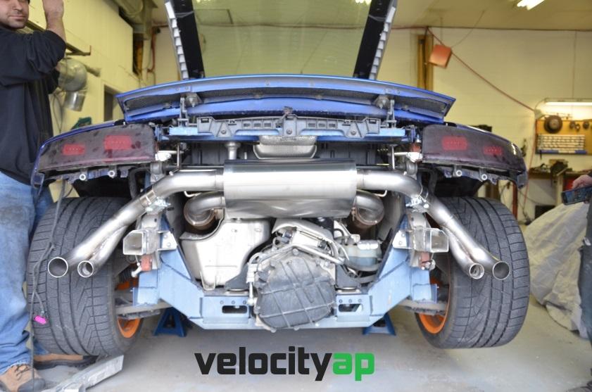 Lamborghini LP550, LP560, LP570 Stainless Steel Exhaust 'Sport' Sound Level