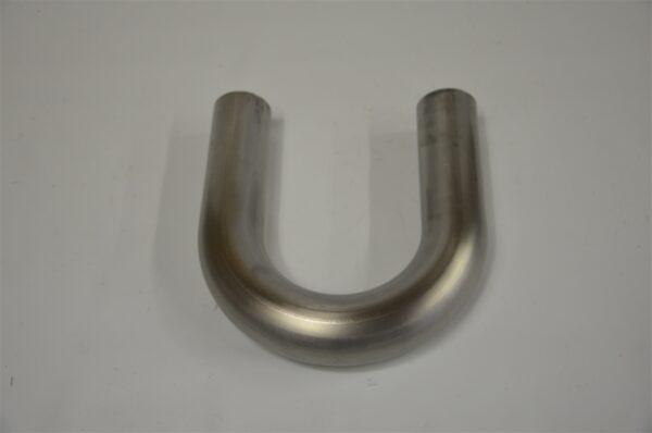 "3.0"" 304 Grade Stainless Steel 16 Gauge Bend 1.5D Centerline Radius"