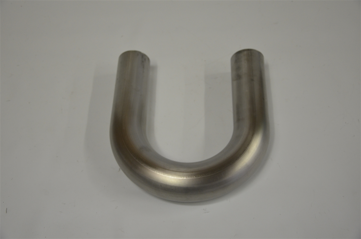 "3.0"" 304 Grade Stainless Steel 16 Gauge Bend 1.5D Centerline Radius"