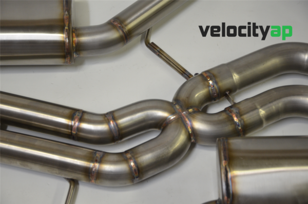 Audi RS5 Stainless Steel Rear Exhaust 'Valvetronic' Sound Level