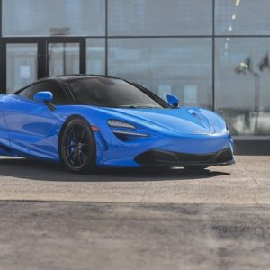 McLaren 720S Progressive Rate Lowering Springs