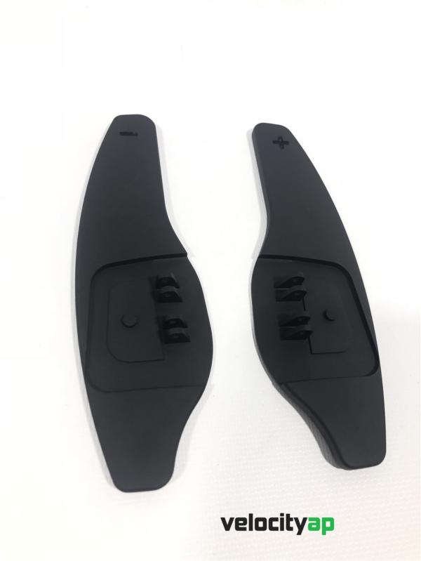 Jaguar Larger Extended Paddle Shifter Set Black