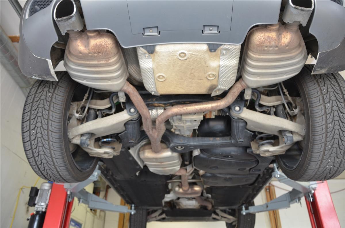 Audi Q5 2.0L TFSI Sport Exhaust