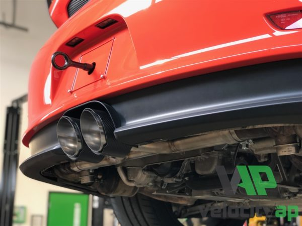 Porsche GT3 X-Pipe Muffler Delete Exhaust