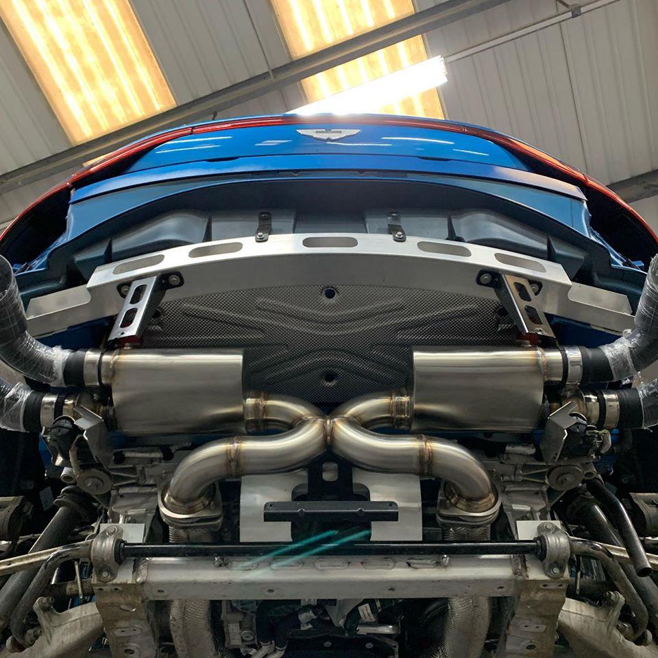 Aston Martin Vantage Amv8 2018 On 4 0tt Valvetronic Exhaust Velocity Automotive Performance